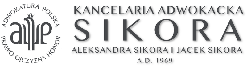 Kancelaria Adwokacka Aleksandra Sikora i Jacek Sikora Bielsko Biała